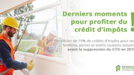 Reduction Du Credit D Impots Dernier Moment Pour En Profiter